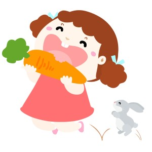 Jak nauczyć dziecko sięgać po warzywa (marchewkę) zamiast po słodycze?
